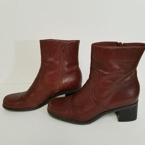 Naturalizer leather mid-calf boots size 9 M